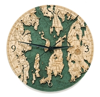 Narragansett Real Wood Decorative Clock
