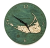 Nantucket Real Wood Decorative Clock