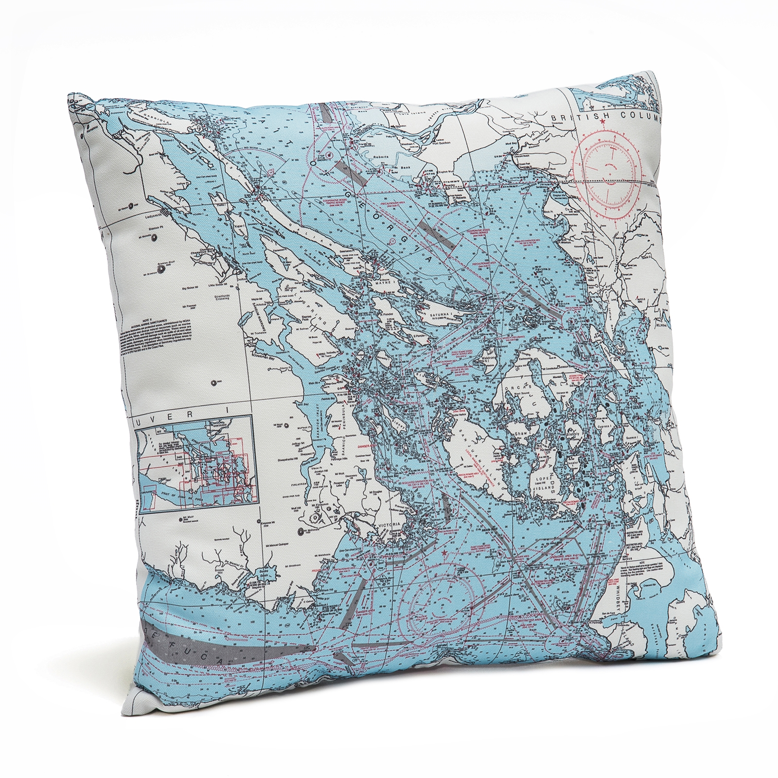Worksheet. San Francisco Bay Pillow Map from Carved Lake Art Nautical Gifts