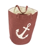 Red Anchor Great Lakes Tote Red Bag