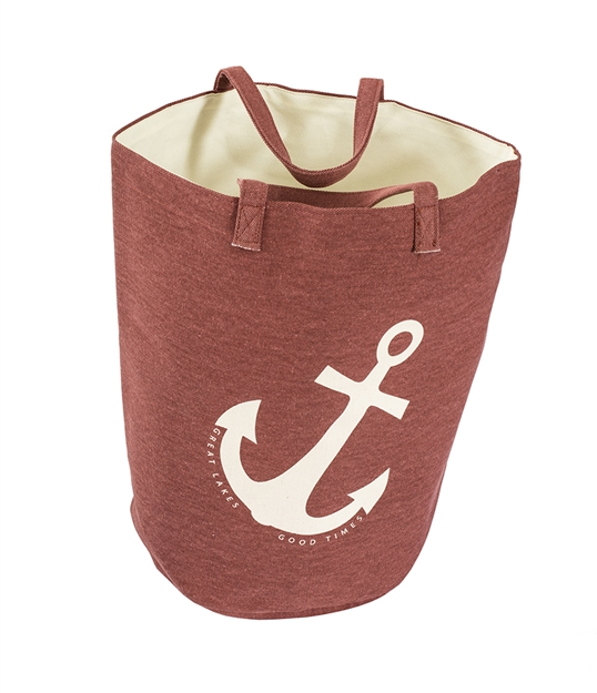 Great Lakes Tote Red Anchor