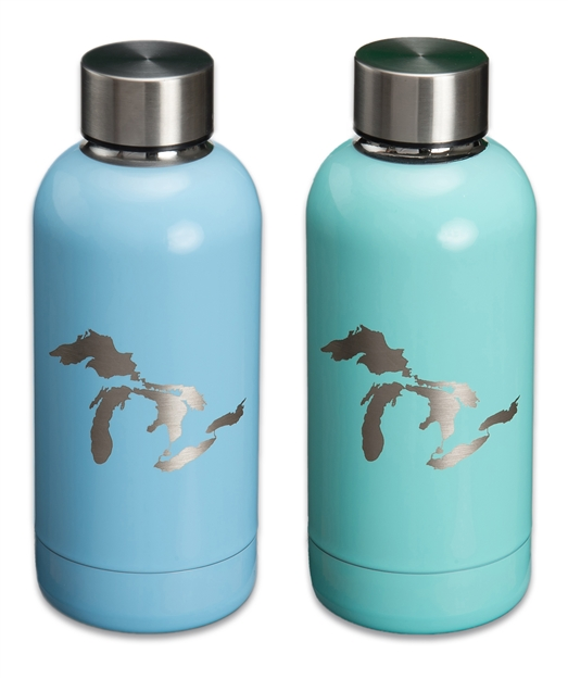 Great Lakes 12 Oz Stainless Vacuum Insulated bottle
