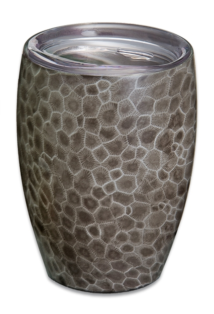 Petoskey Stone 12 Oz Stainless Vacuum Insulated Wine Tumbler