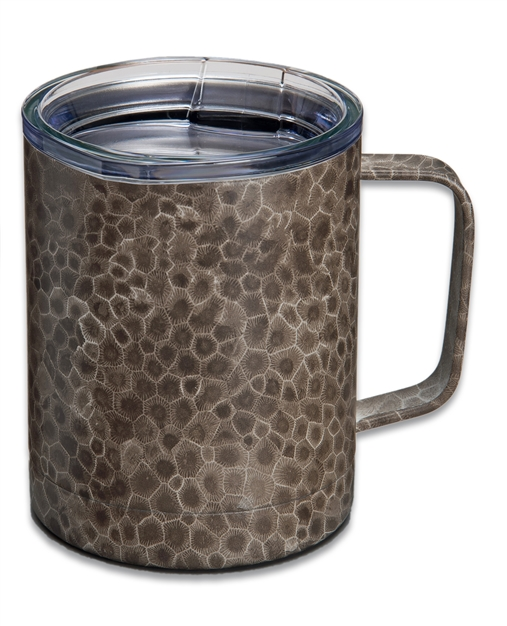 Petoskey Stone 12 Oz Stainless Vacuum Insulated Camp Cup