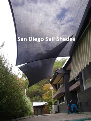 20 X12 Large Rectangle Sun Sail Shade
