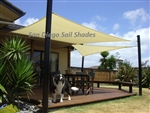 24' Square Sun Sail Shade