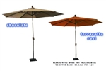 Deluxe Market Umbrella - Oversized 8' with Tilt function