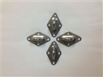 Padeye Set (for Quadrilaterals) - Stainless Steel