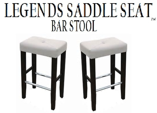 Legends Modern 30 Saddle Seat Bar Stools