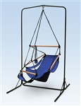 Oval Frame Hammock Chair Stand