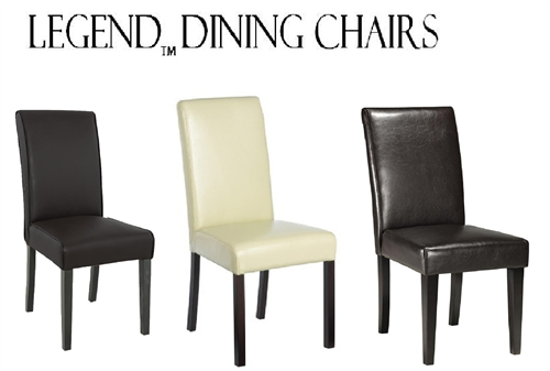legends modern parsons dining chairs set of 2 - Parsons Dining Chairs
