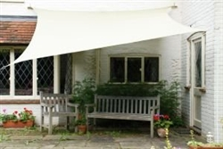 Waterproof 12' Square Sun Sail Shade