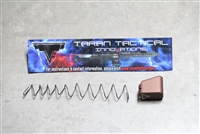 Taran Tactical Base Pad - .45 Cal Glock +4 - Coyote Bronze