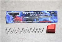 Taran Tactical Base Pad - .45 Cal Glock +4 - RED
