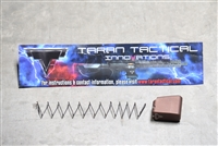 Taran Tactical Base Pad - Glock 43 +3 - Coyote Bronze