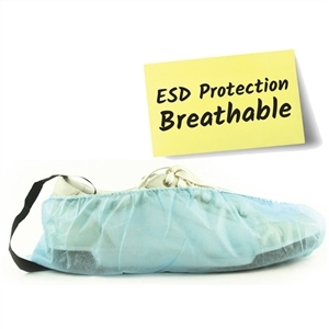 Shoe Inn 7FAB-100HC-ESD Fabric Shoe Covers with ESD for Fusion and Stay