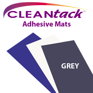 CLEANtack Adhesive Mat - Grey (Case of 4 Mats)