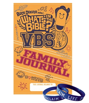 VBS Wristbands and Family Journals - pack of 20