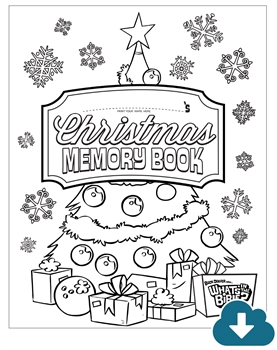 Christmas Memory Activity Book Download