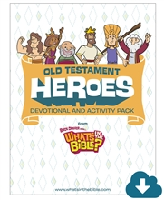 Old Testament Heroes Activity Pack Download