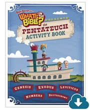 Pentateuch Activity Book Download