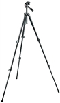 Manfrotto Bogen 293 Aluminum 3 Section (Black) Tripod with (Quick Release) 3 Way Head