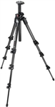Manfrotto Bogen Carbon Fiber Tripod - Q9- 4 Section & Black 700RC2 Composite Head with Adjustable Quick Release Plate