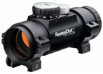 BURRIS 1x35mm SpeedDot Sight 11 MOA Dot, Matte (Includes free Weaver style rings and covers)