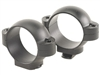 BURRIS Standard Solid Steel Rings (Dovetail front, Windage Adjustable Rear) Matte Low 1 inch