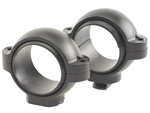 BURRIS (Dovetail front, Windage Adjustable Rear) Matte Medium 1 inch  Signature Rings