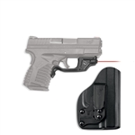 CRIMSON TRACE Laserguard Springfield Armory XD-S 9mm With Blade-Tech IWB Holster