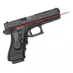 CRIMSON TRACE Lasergrip Glock Gen3 Full-Size & Compact Dual Laser (visible red & infrared) Dual Side Activation