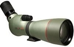 KOWA TSN 88mm Angled Spotting Scope (Green Rubber Armor) (Prominar Pure Flourite Lens) with Kowa 25-60X Eyepiece Works Package