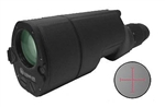 KRUGER Lynx Tactical 14-50x60mm Straight Spotting Scope with Illuminated Mil-Dot Reticle