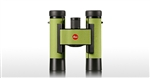 LEICA 10x25mm Ultravid Colorline (Apple Green) Binoculars