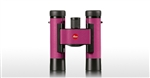 LEICA 10x25mm Ultravid Colorline (Cherry Pink) Binoculars