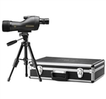 LEUPOLD SX-1 Ventana 15-45x60mm Straight Spotting Scope Kit Black (Includes hard case, table top tripod and soft cover)