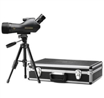 LEUPOLD SX-1 Ventana 15-45x60mm Angled Spotting Scope Kit Black (Includes hard case, table top tripod and soft cover)