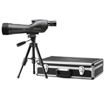LEUPOLD SX-1 Ventana 20-60x80mm Straight Spotting Scope Kit Black (Includes hard case, table top tripod and soft cover)