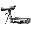 LEUPOLD SX-1 Ventana 20-60x80mm Angled Spotting Scope Kit Black (Includes hard case, table top tripod and soft cover)