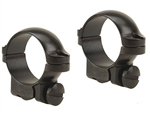 LEUPOLD Ruger #1 &77/22 1-inch, Low, Gloss Ringmounts