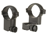 LEUPOLD Ruger #1 & 77/22 1-inch, Super High Extension, Matte Ringmounts