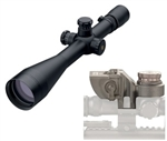 LEUPOLD Mark 4 M1 6.5-20x50mm (30mm tube) Matte Mil-Dot Front Focal Place (includes free Butler Creek Caps) & Barrett BORS system w/30mm Zero-Gap rings (LEU64665-BAR66000)