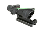 TRIJICON ACOG 4x32mm Dual Illuminated Green Chevron .223 Ballistic Reticle with TA51 Flat Top Adapter