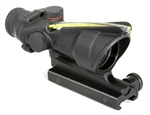 TRIJICON ACOG 4x32mm Dual Illuminated Amber Horseshoe Dot .223 Ballistic Reticle with TA51 Flat Top Adapter