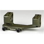 "Warne Mount Gen2 AR 1"" Ext Skeletonized OD"