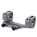 Warne Mount Gen2 AR 34mm Ext Skeletonized Gray
