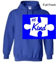 Royal Hooded Sweatshirt (Adult and Youth)