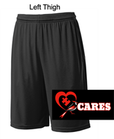 Black Performance Shorts with Pockets (Adult and Youth)