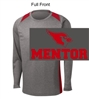Vintage Heather and Red Performance - Long Sleeve (Adult)